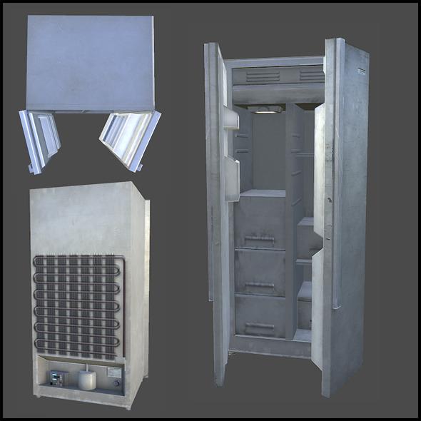 3DOcean Refrigerator 3440026