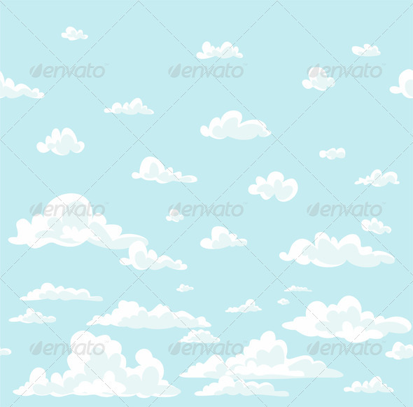 GraphicRiver Clouds Background 3440030