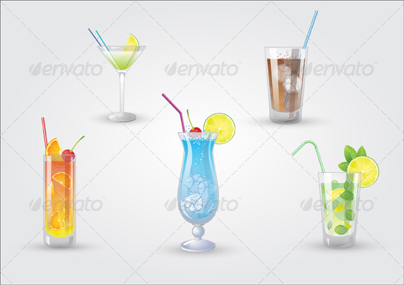GraphicRiver Fresh Cocktails 3115778