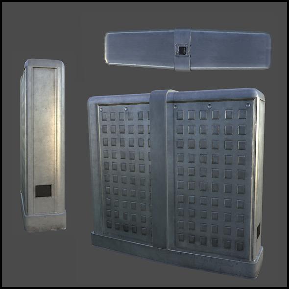 Security Turnstile - 3DOcean Item for Sale