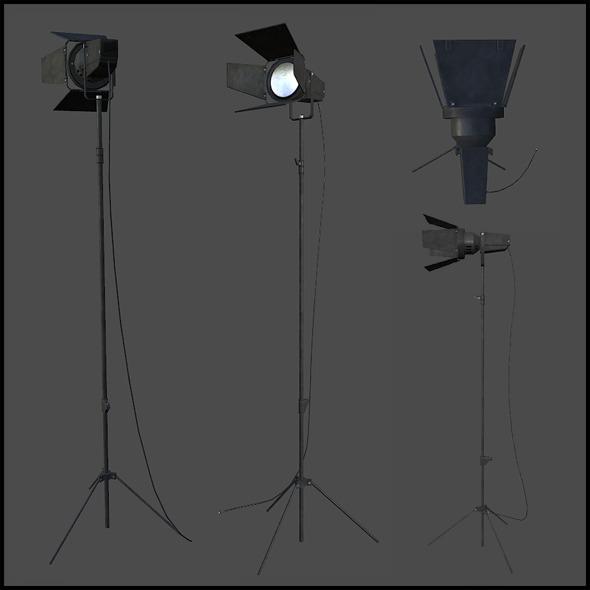 3DOcean News Crew Lights 3440105