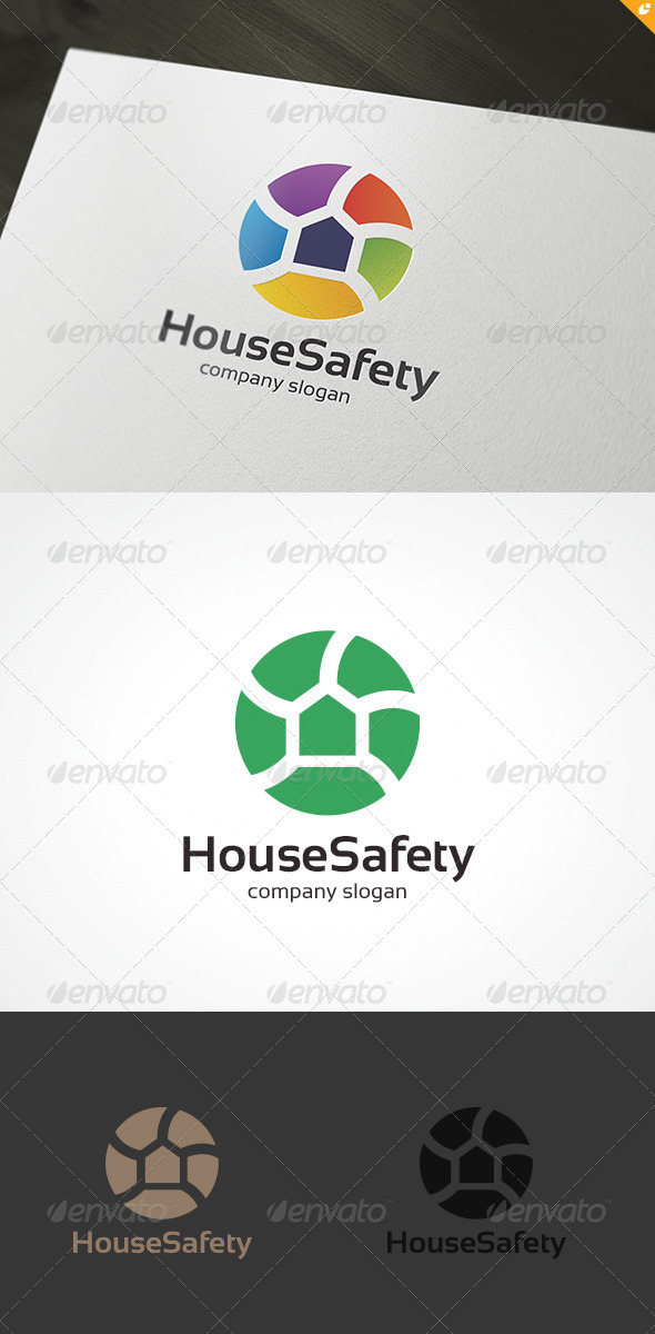 House Safety Logo - Objects Logo Templates