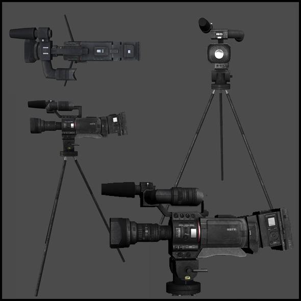 3DOcean News Crew Camera 3440156