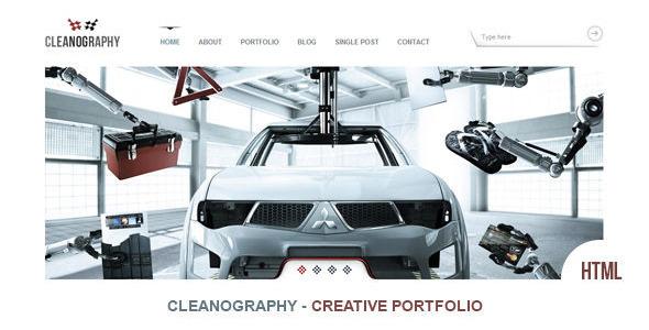 ThemeForest Cleanography Creative Portfolio Template 2930499