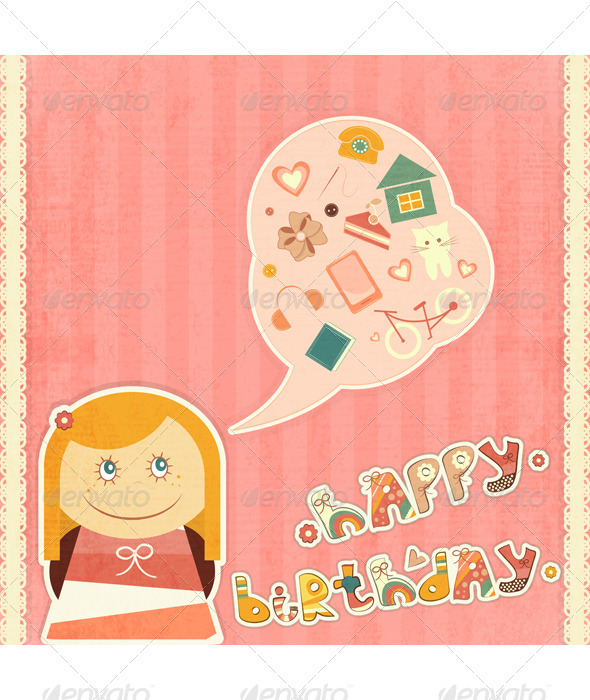 GraphicRiver Birthday Card 3440225
