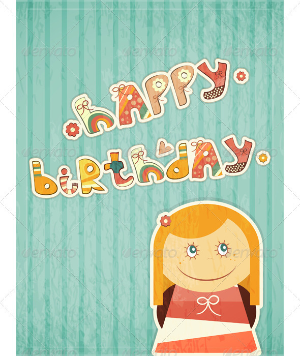 GraphicRiver Birthday Card 3440226