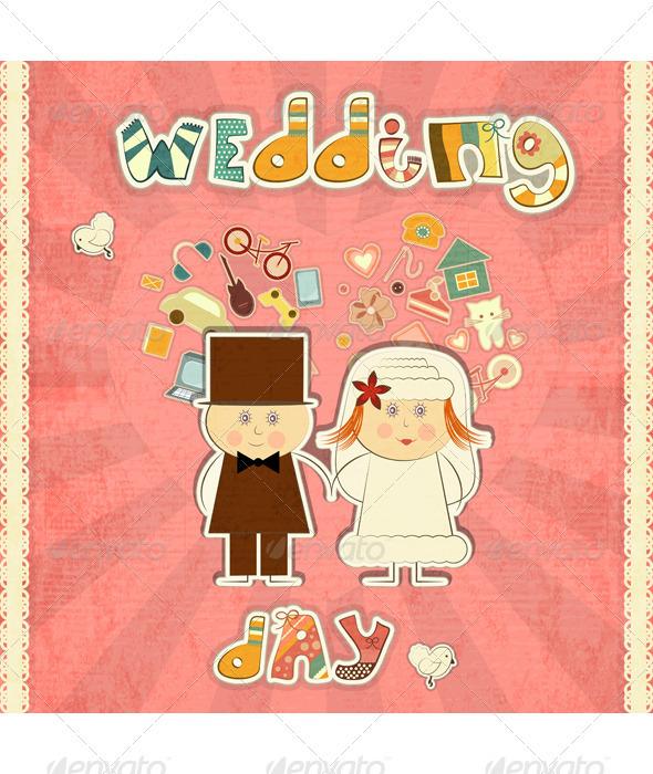 GraphicRiver Wedding Card 3440236