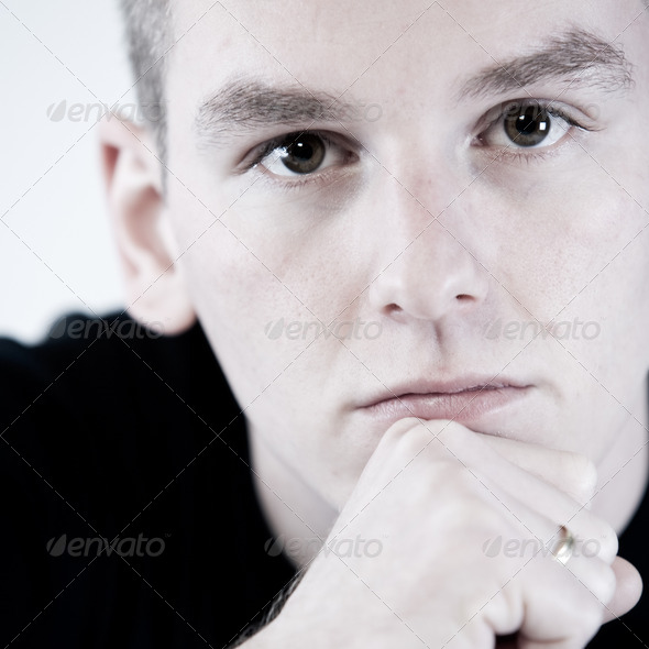 Boys close up - Stock Photo - Images