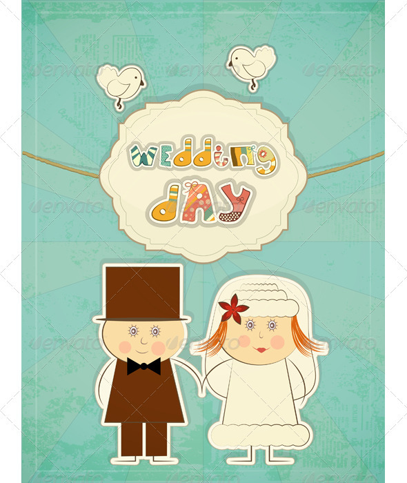GraphicRiver Wedding Card 3440285