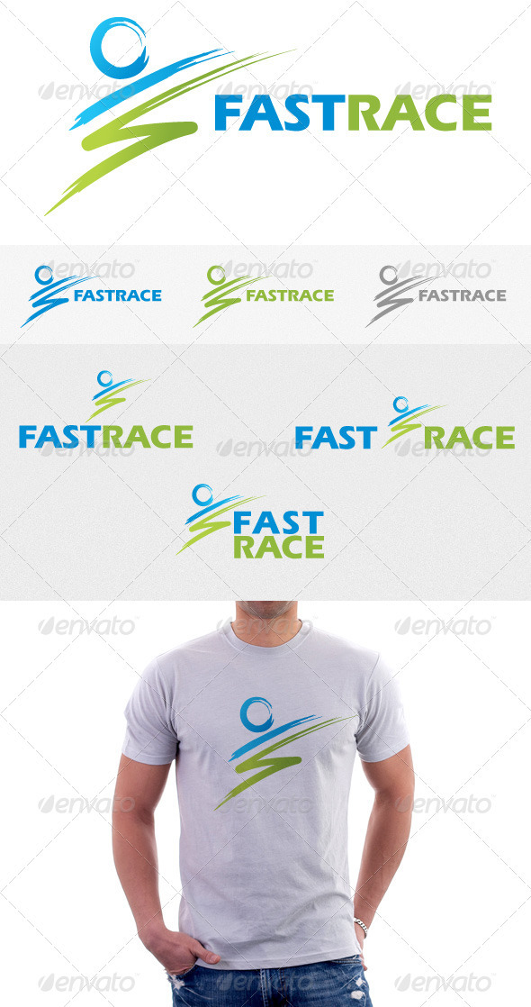 GraphicRiver Fast Race Logo 3406669