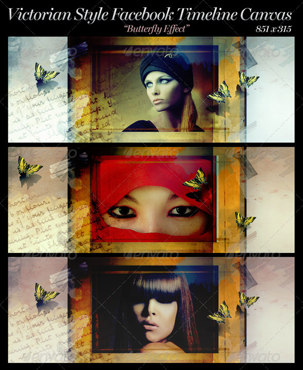 GraphicRiver Victorian Style FB Timeline Canvas 3441217