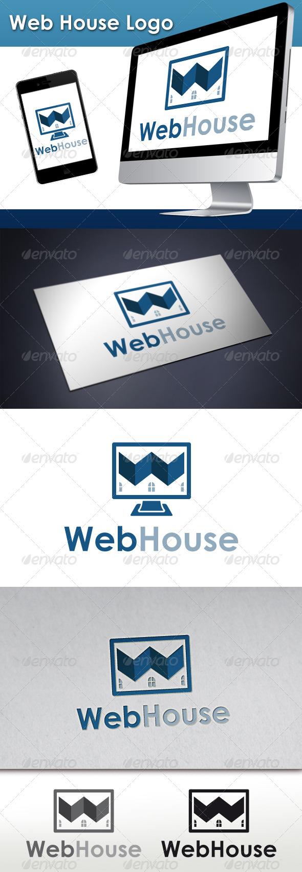 GraphicRiver Web House Logo 3409121