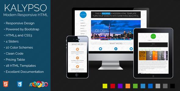 Kalypso - Modern Responsive HTML Template