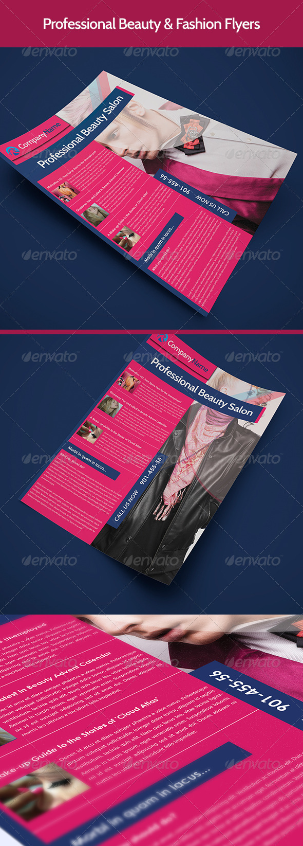 GraphicRiver Beauty & Fashion Flyer 3331071