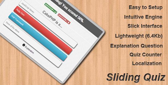 CodeCanyon Sliding Quiz 2379387