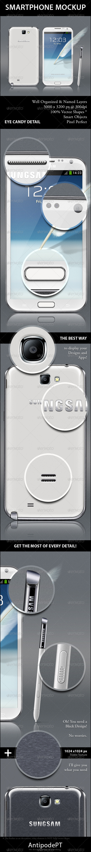 GraphicRiver Smartphone Mockup 3443085