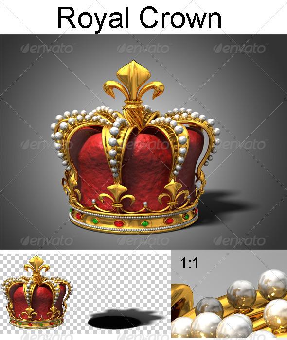 GraphicRiver Royal Crown 3443117