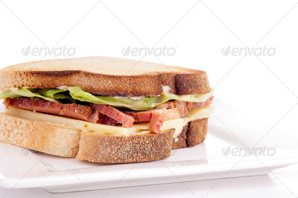 Gluten Free Sandwhich - Stock Photo - Images