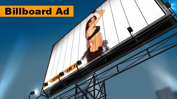 VideoHive Billboard Advertising 3443687