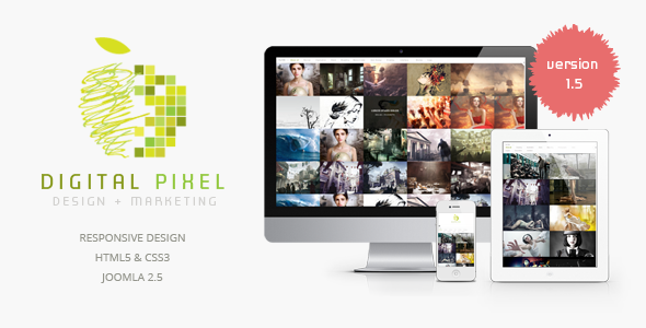ThemeForest Digital Pixel 3203675