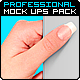 Professional Print Hand Mock Ups Pack = 13 Files - GraphicRiver Item for Sale