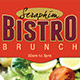Bistro Brunch Restaurant Flyer Template - GraphicRiver Item for Sale