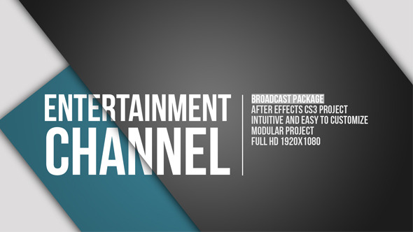 VideoHive Entertainment Channel Broadcast Package 3422760
