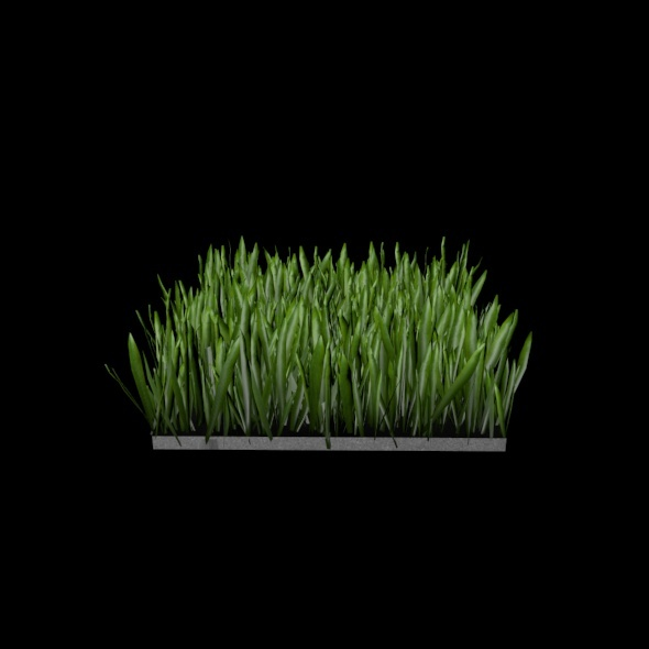 3DOcean High Polygon Grass Patch 3444818