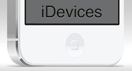 iDevices Mockups