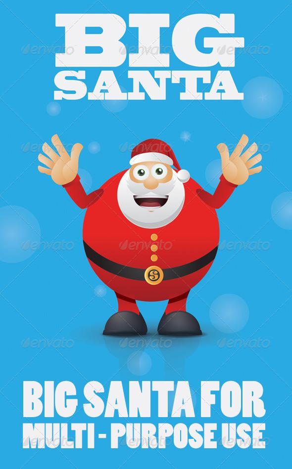 GraphicRiver Big Santa 3408144