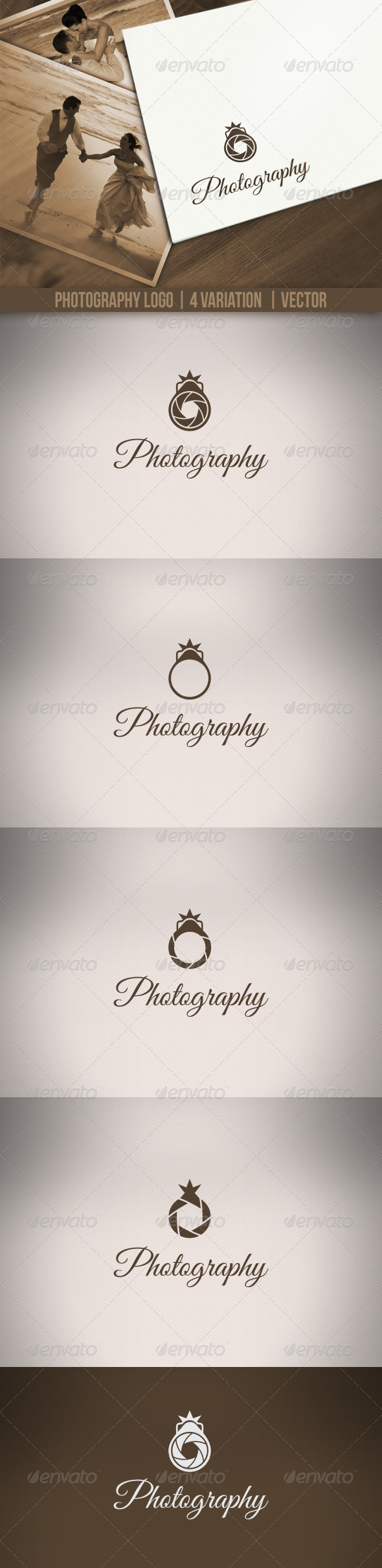 GraphicRiver Photography Logos 3445627