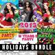 Holidays Flyer Bundle - GraphicRiver Item for Sale