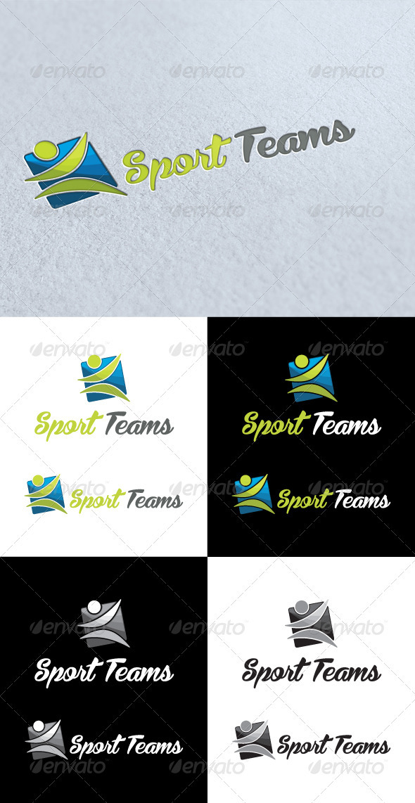 GraphicRiver Sport Teams Logo 3413881