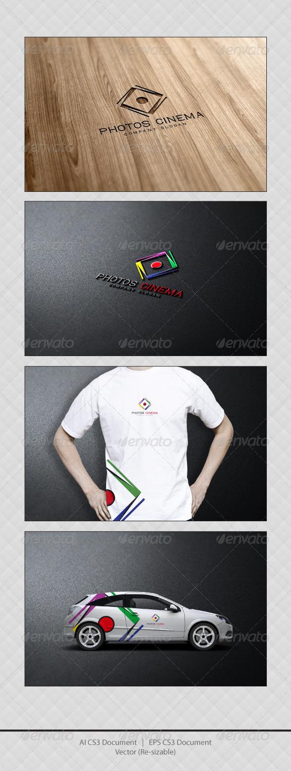 GraphicRiver Photos Cinema Logo Templates 3445965