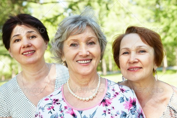 Stock Photo - PhotoDune Senior women 371930