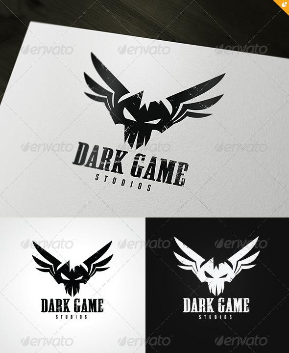 GraphicRiver Dark Game Logo 3446745