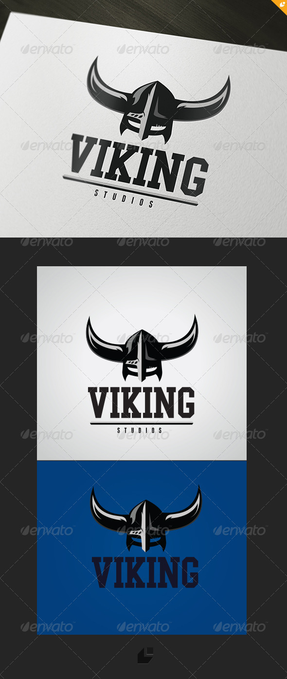 GraphicRiver Viking Studios Logo 3447404