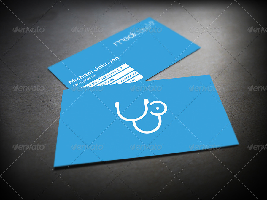 Medic Minimal Medical Business Card By Mediabq