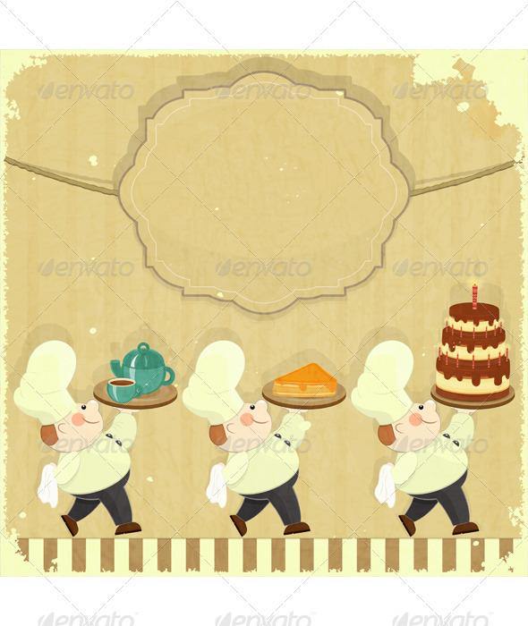 GraphicRiver Cafe Menu Card 3447808
