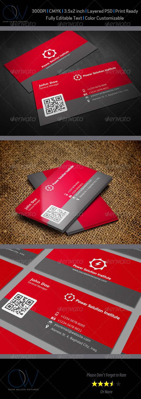 GraphicRiver Corporate Business Card Vol.6 3427744