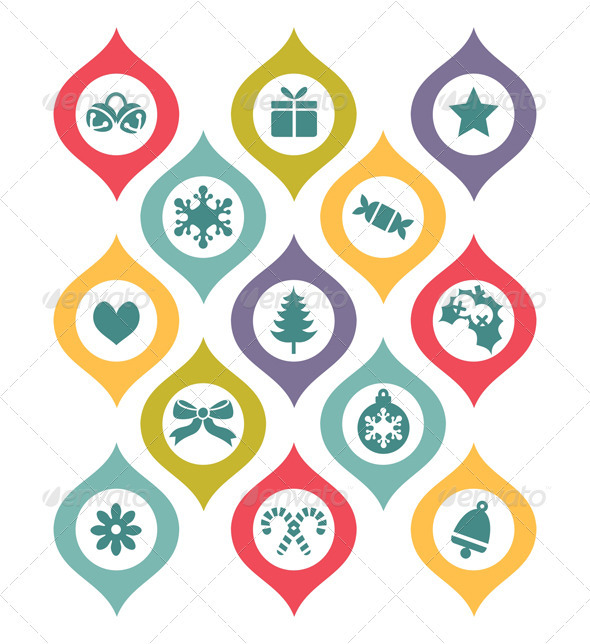 GraphicRiver Holiday Decorative Elements 3448514