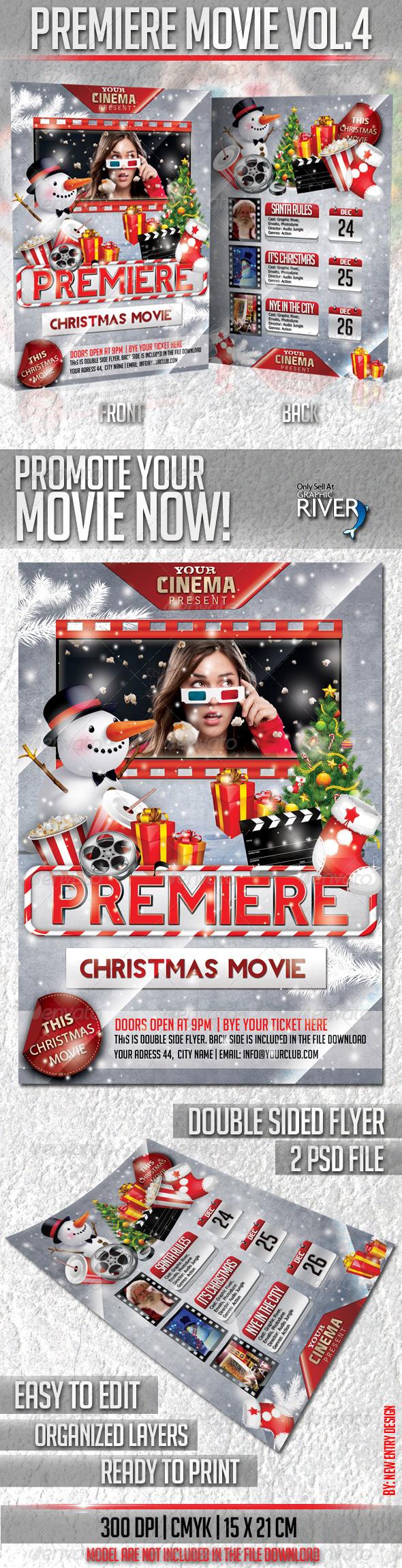 GraphicRiver Premiere Movie Vol4-Christmas Edition 3448716