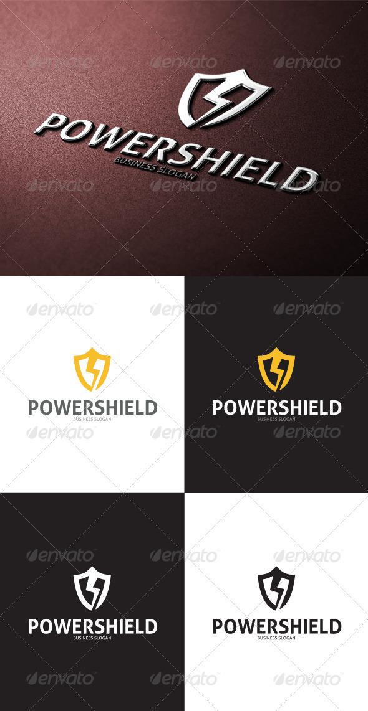 GraphicRiver Power Shield Logo 3449217