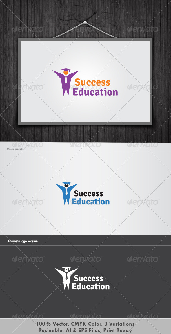 Edu Success Logo - Objects Logo Templates