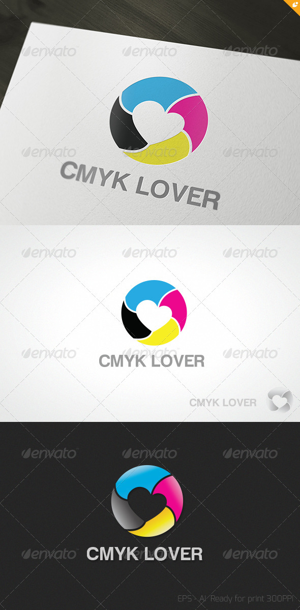 GraphicRiver CMYK Lover Logo 3450499