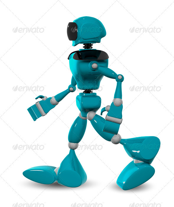 GraphicRiver walking robot 3450538