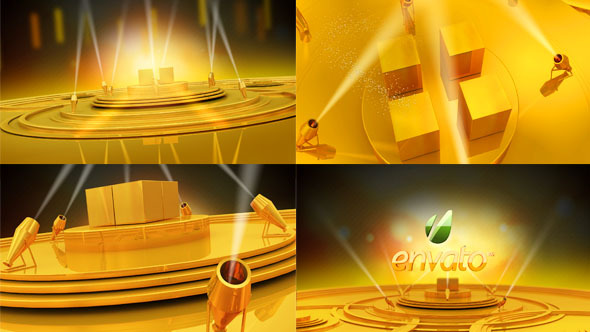 VideoHive Gold stage 3450708
