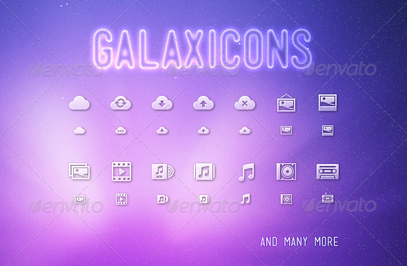 GraphicRiver Galaxicons 3450756