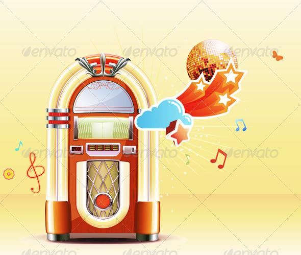 GraphicRiver Retro Music 3450882