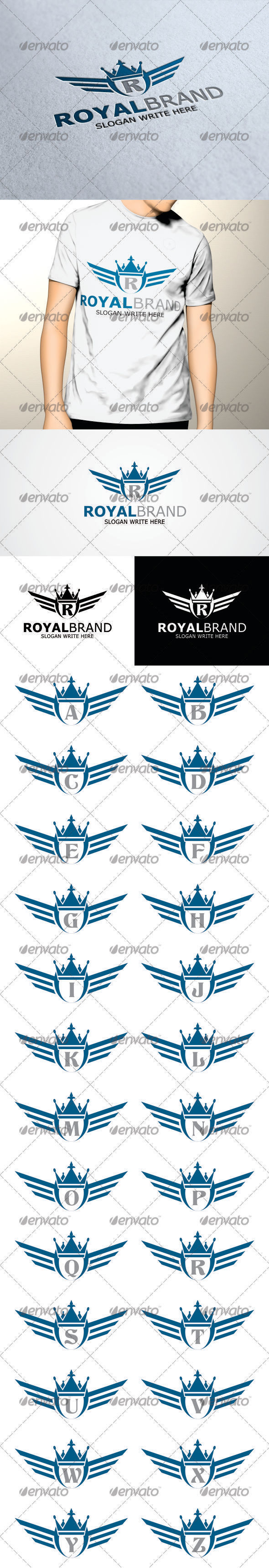 GraphicRiver Royal Brand Logo Template 3451199